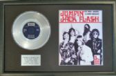 "THE ROLLING STONES - 7""Platinum Disc& Songsheet JUMPIN JACK.."